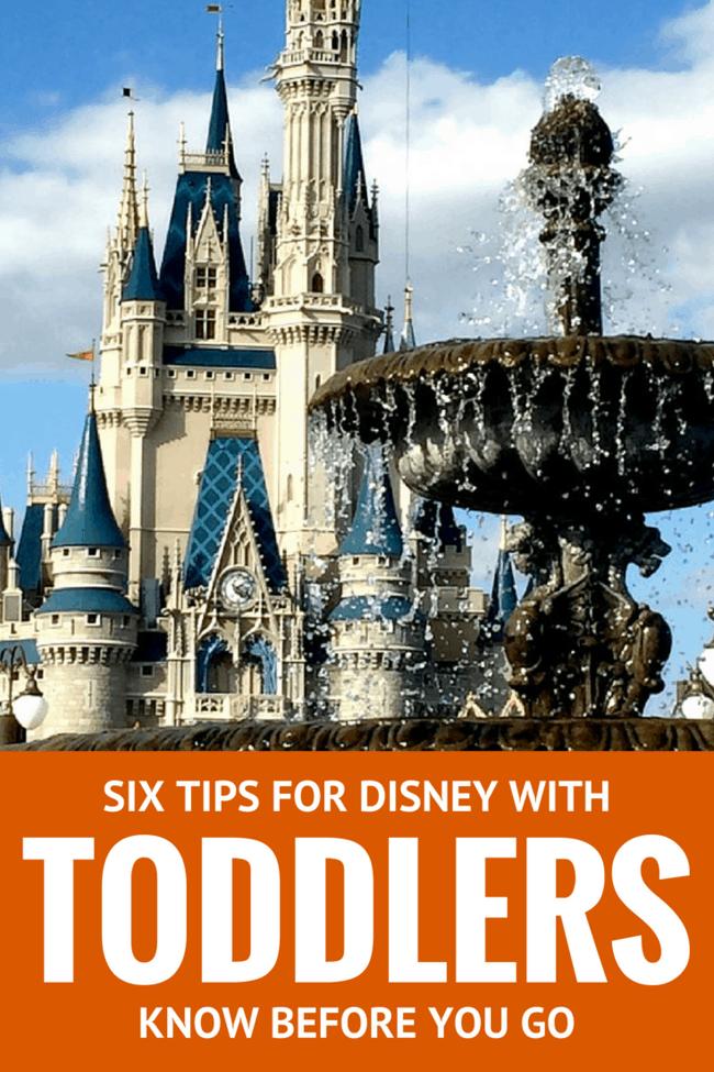 Six Tips for Traveling to Walt Disney World with Toddlers | Family Travel | Travel Tips | Disney with Kids