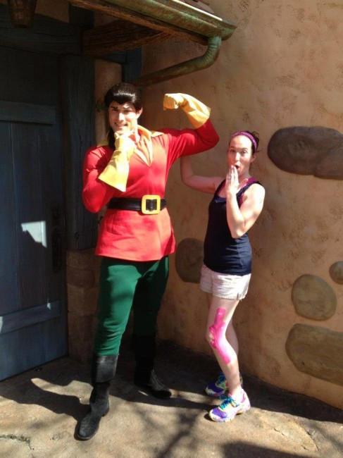 Gaston and April