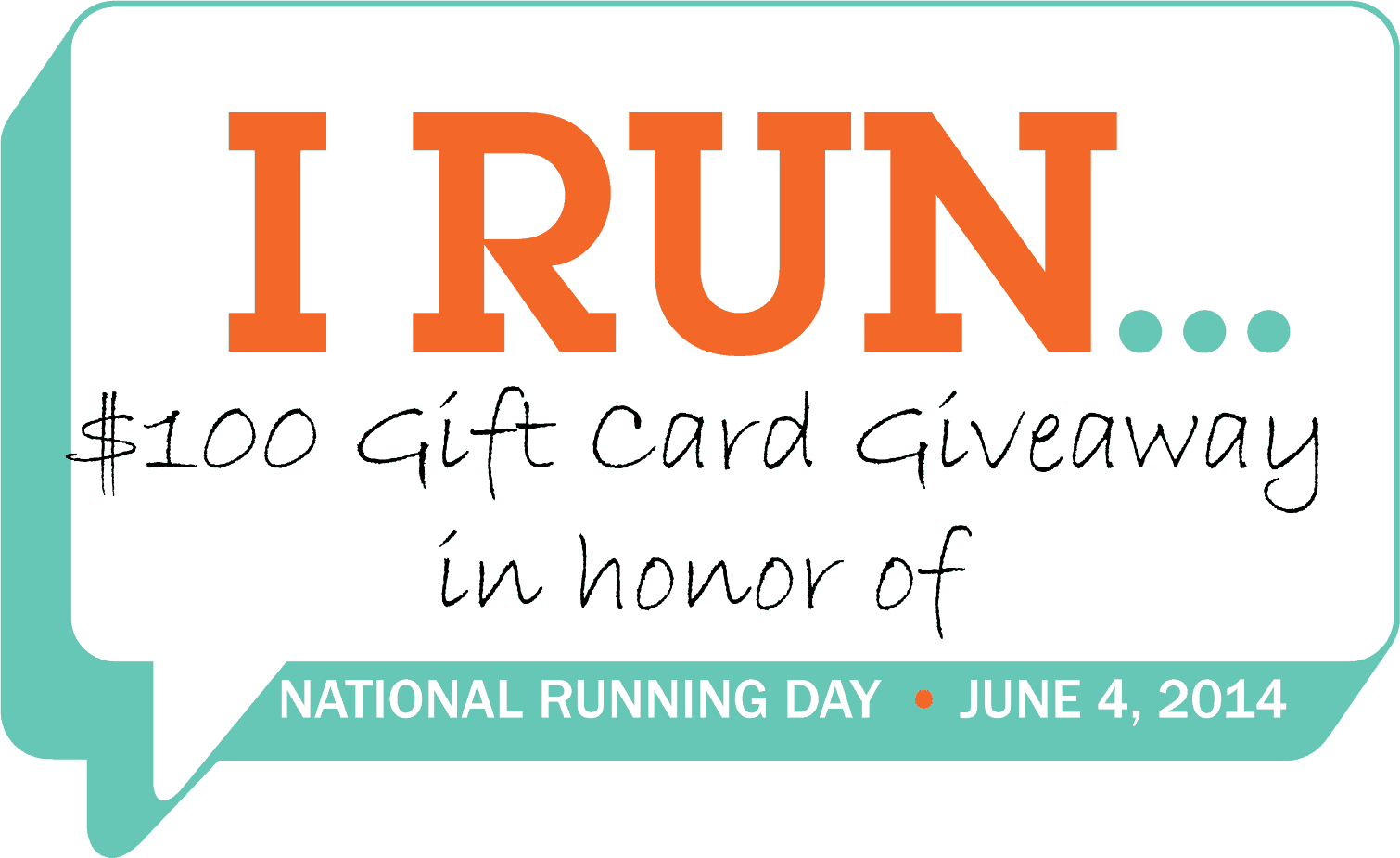 """I Run…"" Celebrate National Running Day"