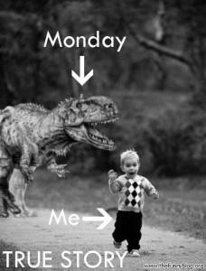 Monday dino