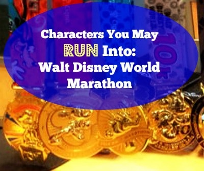 Walt Disney World Marathon Characters | Tuesdays on the Run
