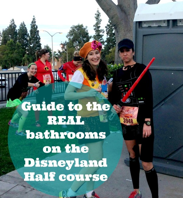 How to find the real bathrooms at runDisney Disneyland Half