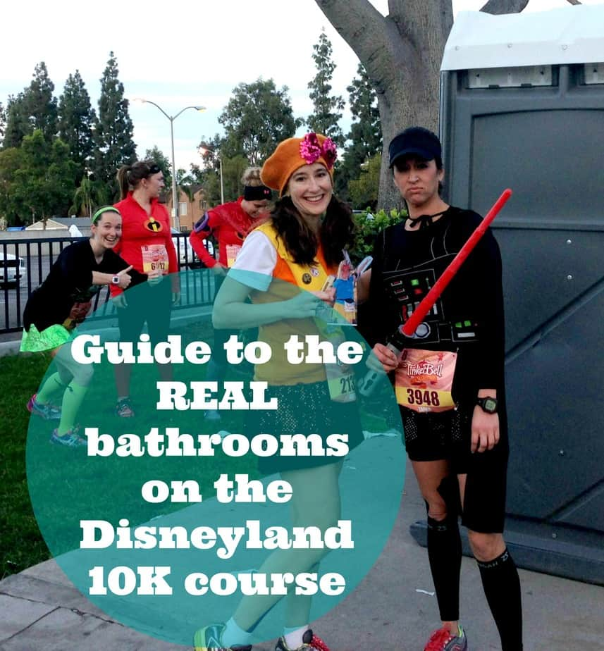 Disneyland 10K: Where to Find the Real Bathrooms