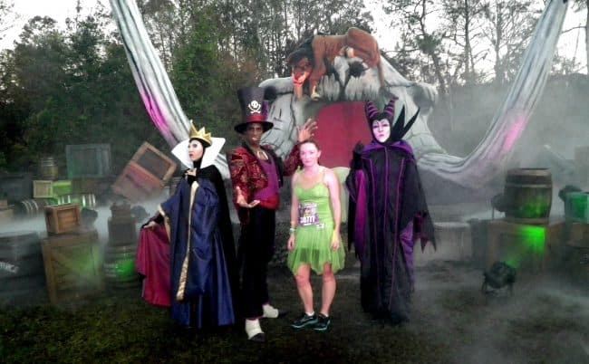 wdw marathon villains at rundisney