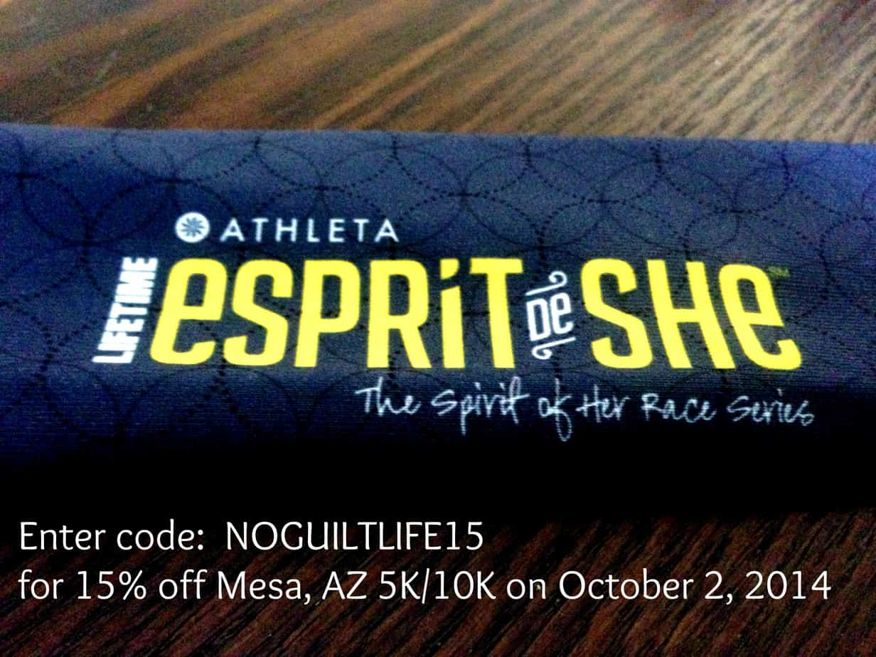 ESPRiT de SHE Giveaway | Tuesdays on the Run