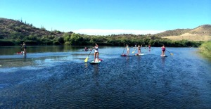 What's SUP?  Stand Up Paddle Boarding