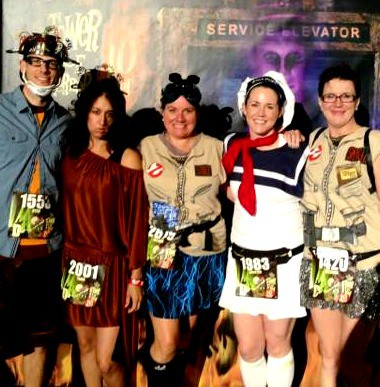 The DisBroads LOVED the #Tower10Miler: Who you gonna call?