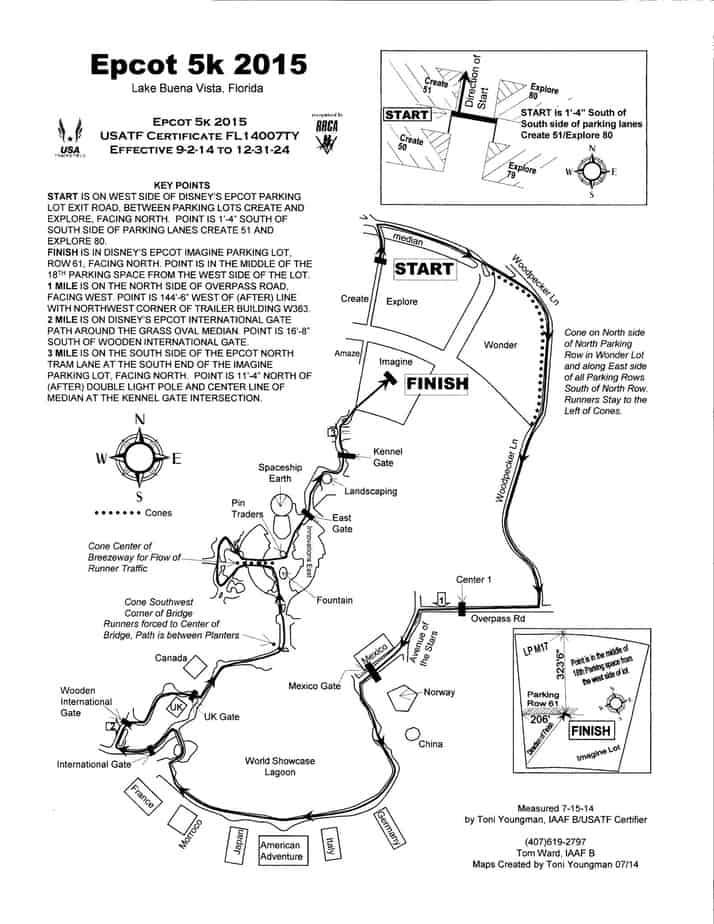New 5K Route For Marathon Weekemd