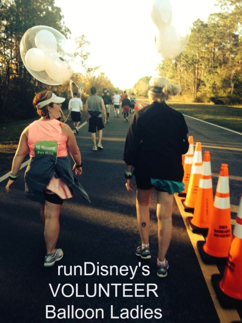 balloon ladies Marathon