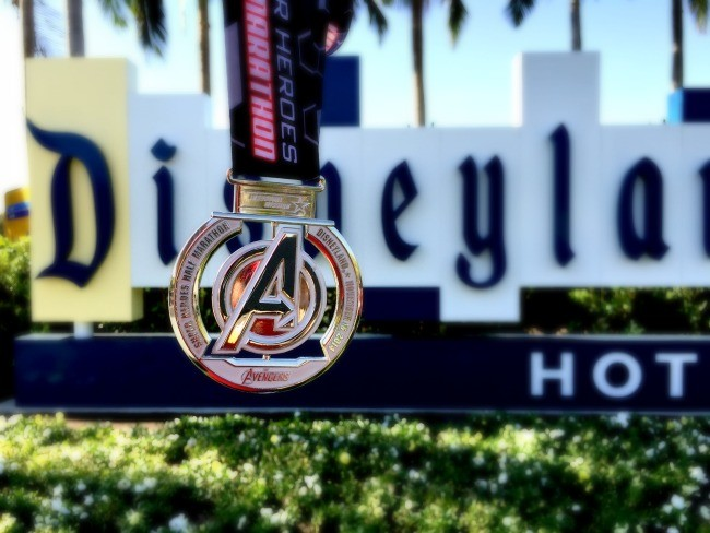 Avengers medal DLH sign