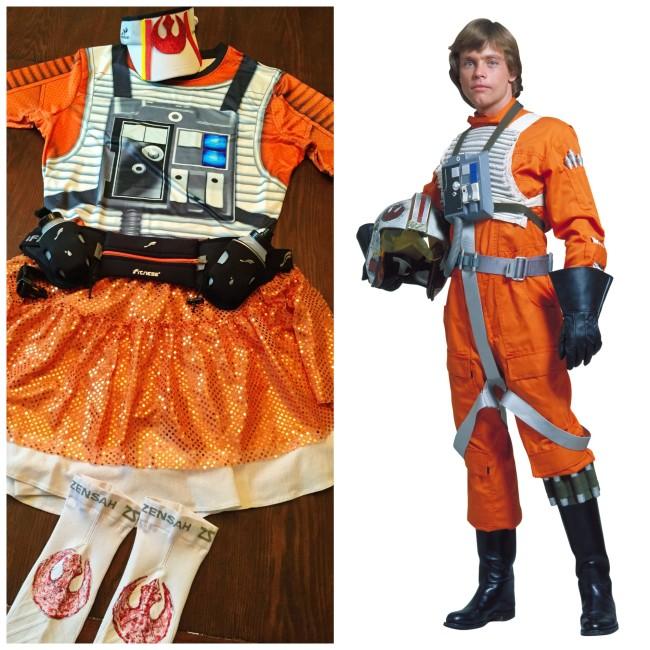 rebel pilot star wars costume