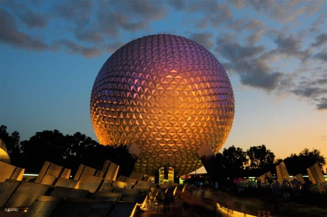 parking at Disney world theme parks like Epcot