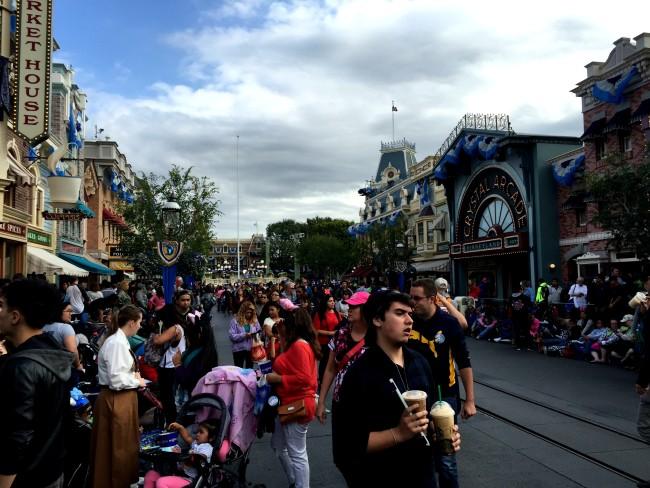 Main Street, U.S.A. around 5pm May 22, 2015