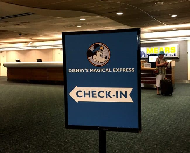 magical express signage