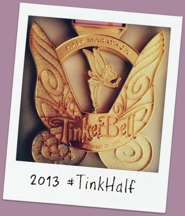 rundisney tinker bell 2013 medal