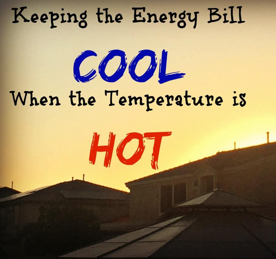 Keeping the Energy Bill Cool