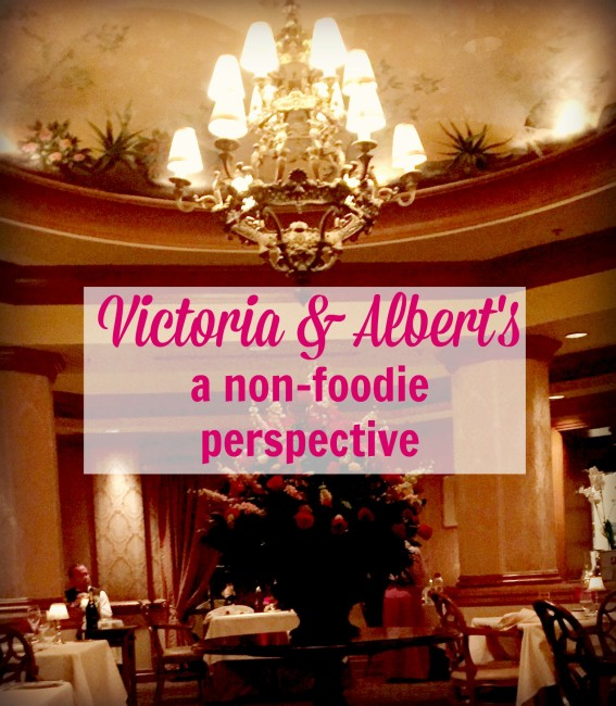 Victoria & Albert's Review from a non-foodie perspective. It was GOOD and don't be sacred to try it out at Walt Disney World!