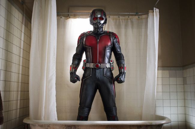 Marvel's Ant-Man Scott Lang/Ant-Man (Paul Rudd) Photo Credit: Zade Rosenthal ? Marvel 2014