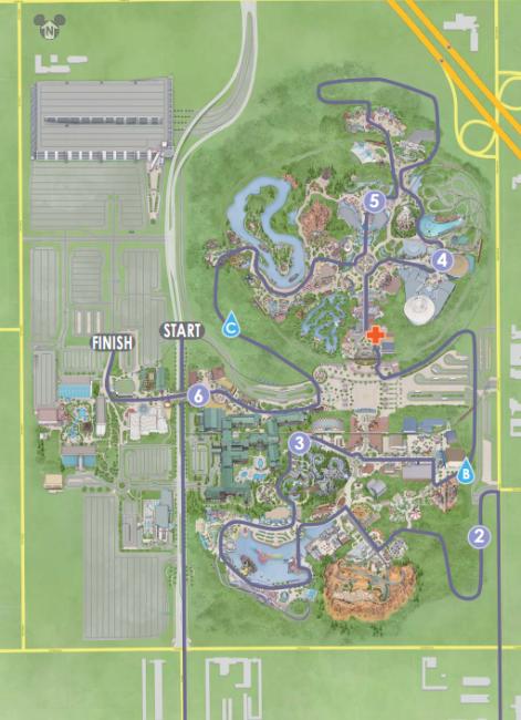 10K DL map