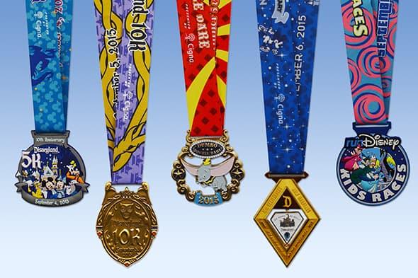 DL half 15 medal