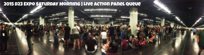 live action D23