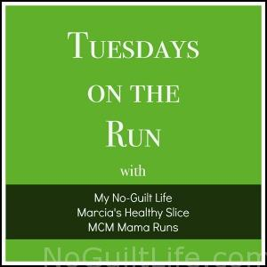 Tuesdays on the Run Link Up- every Tuesday we have a new running related topic. Join your favorite running bloggers in linking up each week.