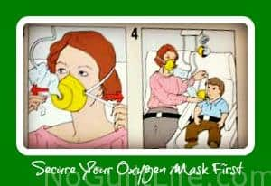 Because: 19.3 Miles | I'm Securing My Oxygen Mask First