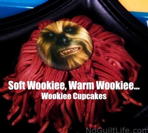 wookiee cupcake
