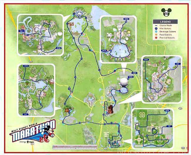 Marathon course 2016