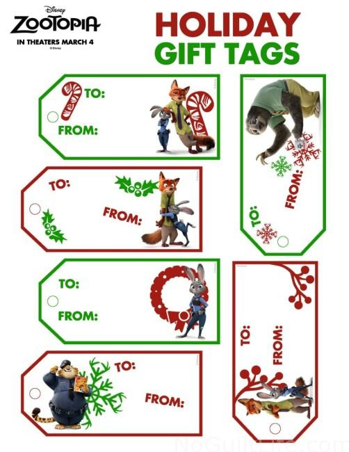 Free Zootopia downloads! Party pack and holiday gift tags- your kids will go wild for these! Nick Wilde and Judy Hopps are the stars of these free printables.