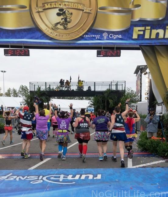 wdw marathon 34 finish