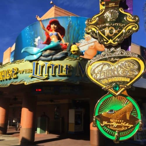 runDisney Glass Slipper Challenge medals 2016