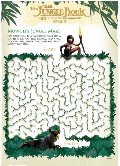 junglebook maze