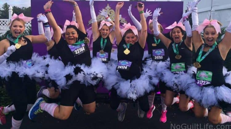 Running the Princess Half Marathon- do it with friends!