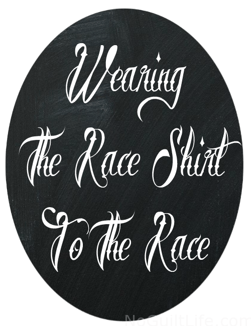 Wearing the Race Shirt To the Race | Tuesdays on the Run