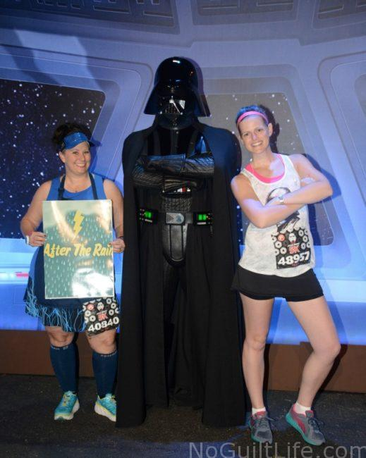 PP Pre race with Darth Vader