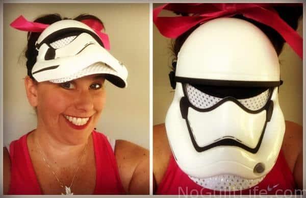 stormtrooper mask visor running costume