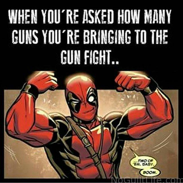 Check out the biceps on Deadpool. He must workout. Monday Memes featuring the Marvel Cinematic Universe.