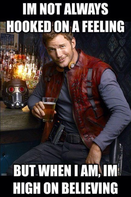 guardians of the galaxy star lord meme