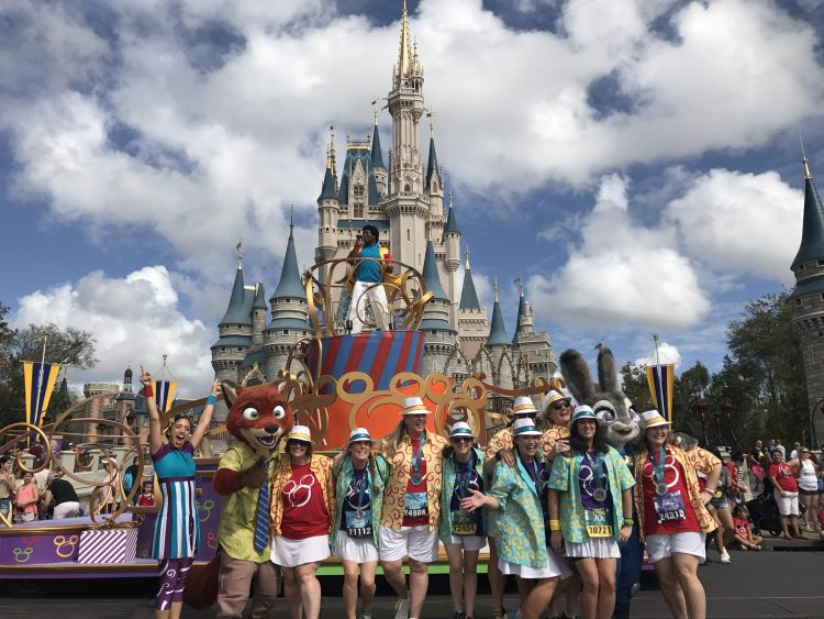 Disney World Move It Shake It Dance and Play It Street Party costumes