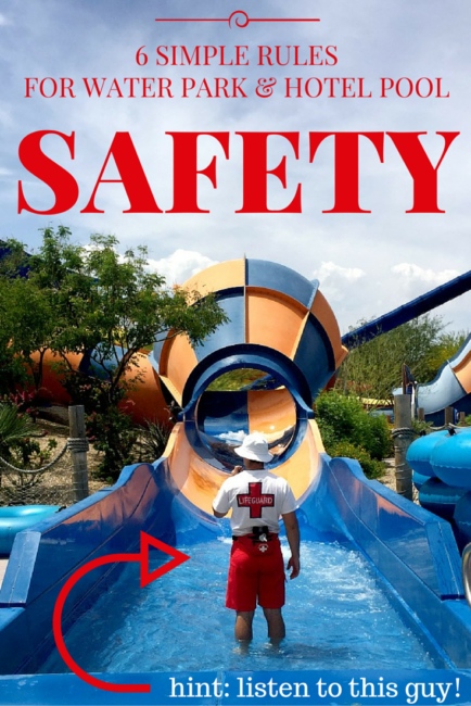 Summer is fun, especially when travel is involved. Add water and you have a recipe for a good time! But safety first: water park & hotel pool safety rules.