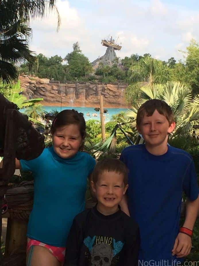 Parking is free at Typhoon Lagoon in Disney World