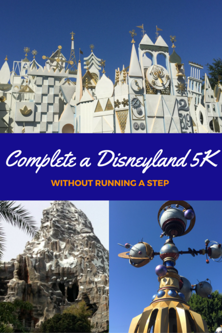 Running a 5K at Disneyland might be a dream for some; but not everyone wants to run! How about a 5K on rides? Here are the attractions you'll need to experience to complete YOUR Disneyland (ride only) 5K.