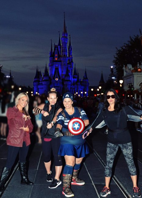 Disney Halloween Party costumes for adults: Marvel Avengers