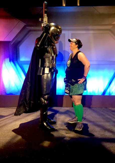 The Dark Side is calling: Star Wars 10K at Walt Disney World is on sale this week. This is the race recap from 2016. runDisney | Storm Troopers | Disneyland | Captain Phasma