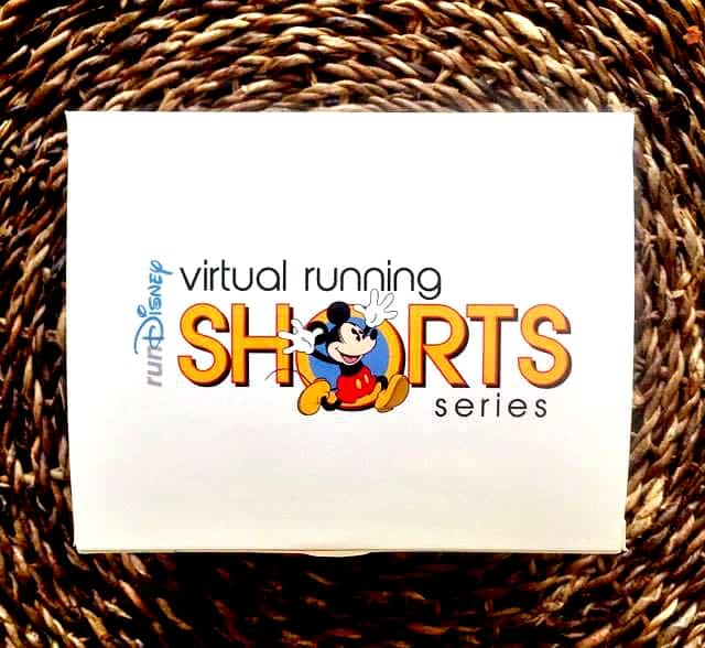 rundisney virtual running shorts box