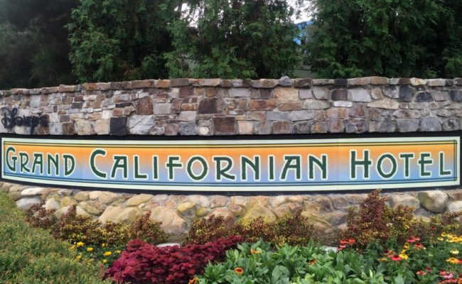 Get up and go power walk experience at Disney's grand californian hotel | Disneyland | rundisney | power walk