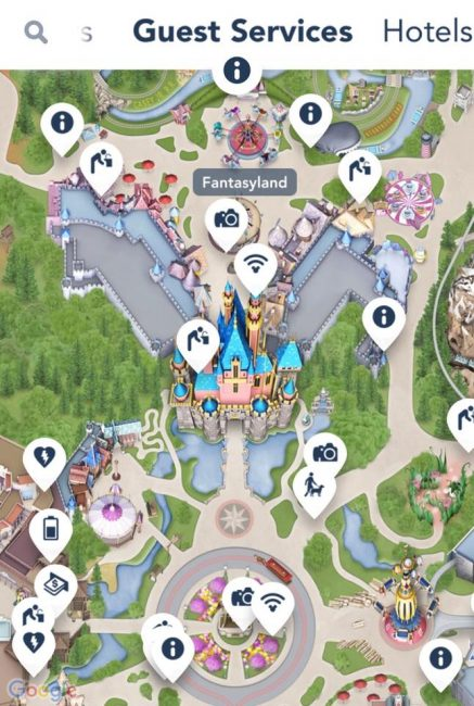 free at Disneyland wifi hotspot information