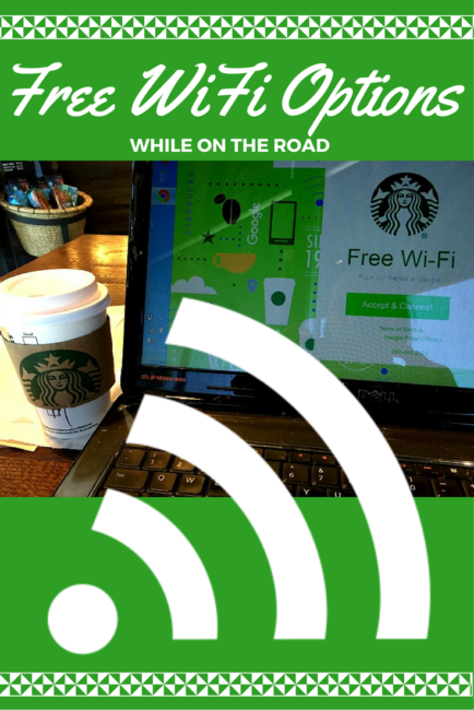 Free places with wifi internet on the road when traveling. Travel Hacks | Road Trip | WiFi | Pitstop | Places With Free WiFi | Coffee Shops