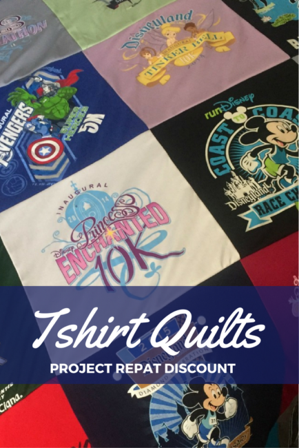 Runners: turn your old race shirts into something you can use. Tshirt quilts from Project Repat. Bonus: discount good until February 25, 2017. Blanket | Running | Quilting